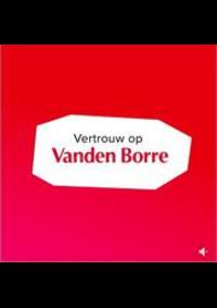 Prospectus Vanden Borre SAINT-TROND : Best Prijs