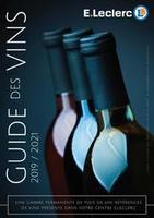 Guide des vins 2019/2021 - E.Leclerc