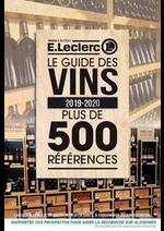 Prospectus  : Le guide des vins 2019-2020
