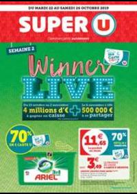 Prospectus Super U : SEMAINE 2 WINNER LIVE