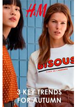 Catalogues et collections H&M : 3 Key trends for autumn