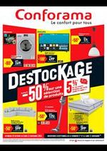 Prospectus Conforama : Destockage!