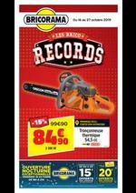 Promos et remises Bricorama : Catalogue Bricorama