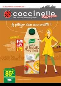 Prospectus Coccinelle Express PARIS : Le potager dans mon assiette!