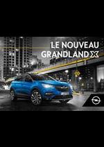 Prospectus Opel : Grandland X