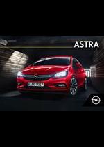 Prospectus Opel : Astra Depliant