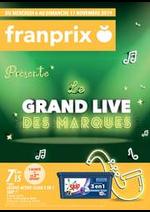 Prospectus Franprix : Présente le Grand live des marques