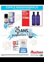 Prospectus Auchan : 25 ans de la parapharmacie