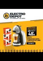Prospectus ELECTRO DEPOT : Arrivage - Exlu web Electro Depot