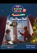Prospectus La grande Récré : Chez Papa Noël