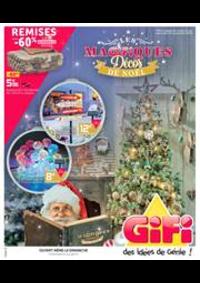 Prospectus Gifi LONGPONT SUR ORGE : Magifiquess Décos de Noël