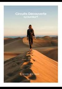 Prospectus CLUB MED voyage Paris : Circuits Découverte / Hiver-Été 2020