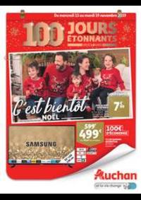 Prospectus Auchan ISSY LES MOULINEAUX : C'est bientôt Noël