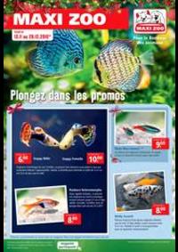 Prospectus Maxi zoo Villeparisis : Plongez dans les promos