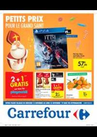 Prospectus Carrefour Express BRUXELLES Beurre : Petits prix pour le grand Saint
