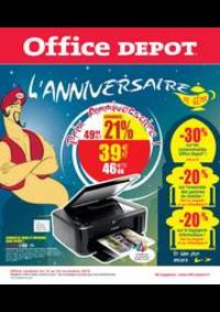 Prospectus Office DEPOT Paris 19 - Belleville : L'anniversaire de génie