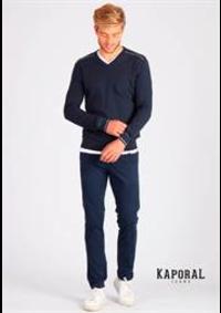 Prospectus Kaporal AUBERVILLIERS : Collection Pulls / Homme