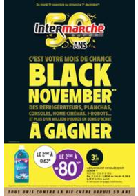 Prospectus Intermarché Super Nanterre : BLACK NOVEMBER**