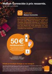 Prospectus Boutique Orange ENGHIEN LES BAINS : Maison Connectée à prix resserrés.