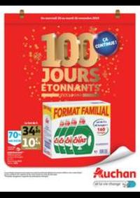 Prospectus Auchan Vélizy : 100 jours étonnants avant 2020