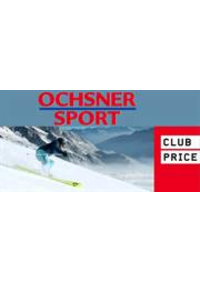 Prospectus Ochsner Sport Bern : Club price