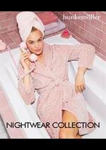 Prospectus Hunkemöller : Nightwear Collection