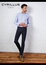 Prospectus Cyrillus : Chemises Homme