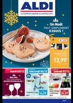 Prospectus Aldi : Un Noël TOUT SIMPLEMENT EXQUIS!