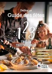 Prospectus Supermarché Delhaize Tournai : Delhaize Guide des ftes