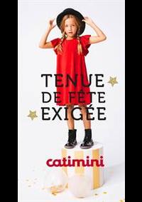 Prospectus Catimini PARIS : Tenue de Fête Exigée