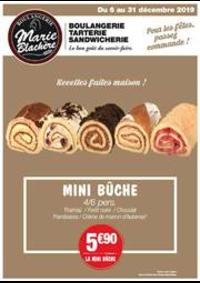 Prospectus Marie Blachère Les Clayes-sous-Bois : Recettes faites maison!