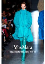 Catalogues et collections Max Mara : Collection AutomneHiver 2019-20