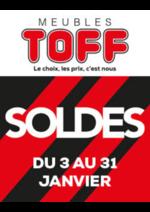 Bons Plans Meubles Toff : Soldes !