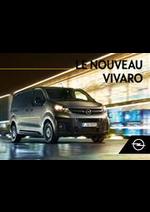 Prospectus opel : Opel Vivaro