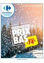 Prospectus Carrefour : Prix bas : jusqu'à -74%