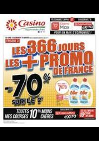 Prospectus Supermarchés Casino : Soldes, Épisode 3 !
