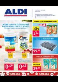Promos et remises Aldi TINLOT : Le dépliant ALDI de cette semaine