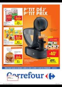 Prospectus Carrefour GOSSELIES : Petit déjeuner, petit prix