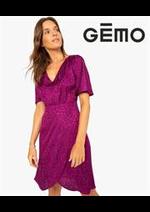 Prospectus Gemo : Collection Robe