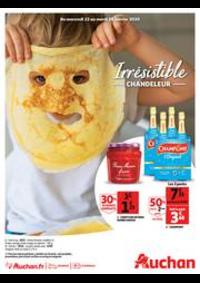 Promos et remises Auchan Epinay sur Seine : Irrésistible Chandeleur