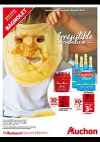 Promos et remises Auchan BAGNOLET : Irrésistible Chandeleur