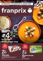 Prospectus Franprix : Profitons d'une pause cosy