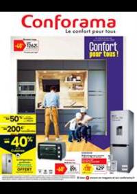 Prospectus Conforama CREIL - ST MAXIMIN : Confort pour tous