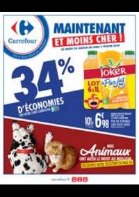 Prospectus Carrefour GENNEVILLIERS : Maintenant et moins cher !