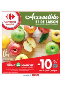Prospectus Carrefour Market TREMBLAY EN FRANCE : Accessible et de saison