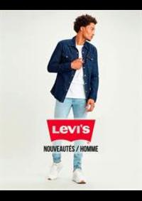 Prospectus Levi's Store les Arcades : Nouveautés / Homme