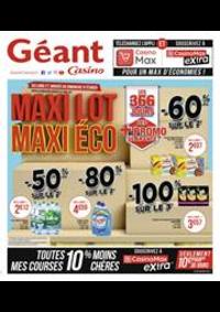 Promos et remises Géant Casino : Maxi Lot Maxi Éco