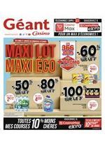 Promos et remises  : Maxi Lot Maxi Éco