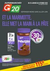 Prospectus G20 PARIS 16 D'Auteuil : Et la marmotte, elle met la main à la pâte