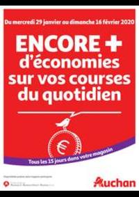 Prospectus Auchan PAU : Des économies au quotidien